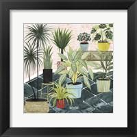 Framed Modern Jungle II