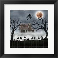 Framed Harvest Moon II