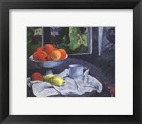 Framed Still Life with Fruit, Brittany
