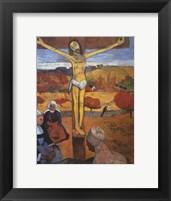 Framed Yellow Christ