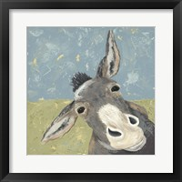Framed Farm Life-Mule