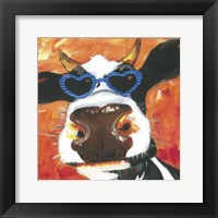 Dapper Animal V Framed Print