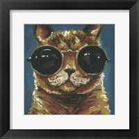 Framed Dapper Animal I