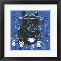 Framed Dapper Animal III