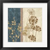 Framed Dandelion Family I