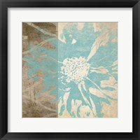 Framed Flower Flake I