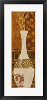 Framed Ethnic Vase I