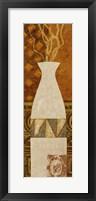 Framed Ethnic Vase II