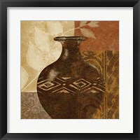 Framed Ethnic Vase III