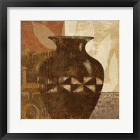 Framed Ethnic Vase IV