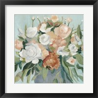 Soft Pastel Bouquet I Framed Print