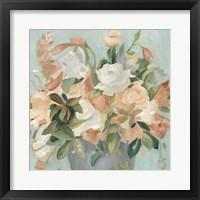 Framed Soft Pastel Bouquet II