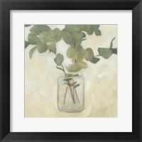 Framed Greenery Still Life II