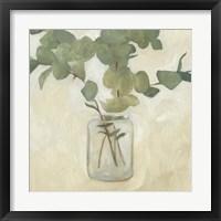 Framed Greenery Still Life II
