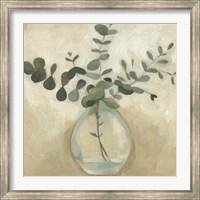 Framed Greenery Still Life III