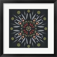 Framed Folk Mandala II