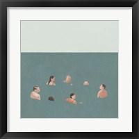 Framed Swimmers I