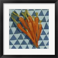 Framed Geo Veggies III