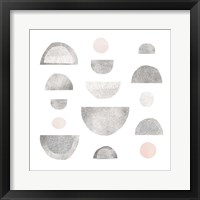 Framed Half Circles I