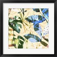 Framed Technicolor Jungle III