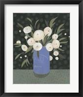 Framed Mason Jar Bouquet I