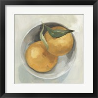 Framed Fruit Bowl II