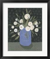 Framed Mason Jar Bouquet II