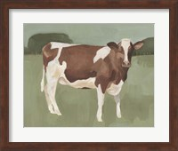 Framed Bovine Field II