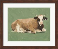 Framed How Now Brown Cow II