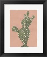 Framed Coral Cacti II