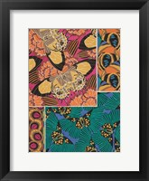 Framed Decorative Butterflies III