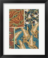 Framed Decorative Butterflies IV