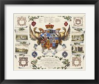 Framed Baronagium Genealogicum