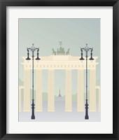 Framed Travel Europe--Brandenburger