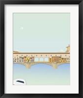 Framed Travel Europe--Ponte Vecchio