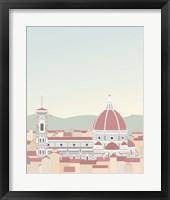 Framed Travel Europe--Firenze