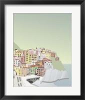 Framed Travel Europe--Manarola