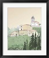 Framed Travel Europe--Pedona