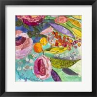 Framed Bold Blooms III
