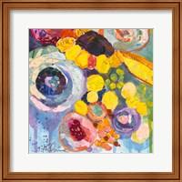 Framed Bold Blooms V