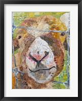Framed Pokey Goat