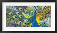 Framed Percy Peacock I