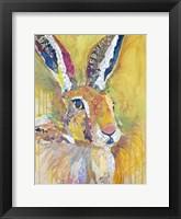 Framed Harriet The Hare