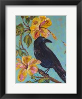 Framed Hawaiian Bird I