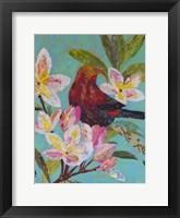 Framed Hawaiian Bird II