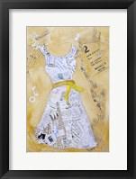 Framed Dress Whimsy III