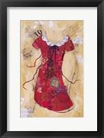Framed Dress Whimsy V