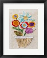 Framed Flower Pot II