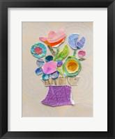 Framed Flower Pot III