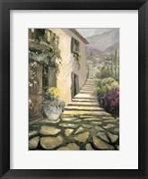 Framed Italian Villa II